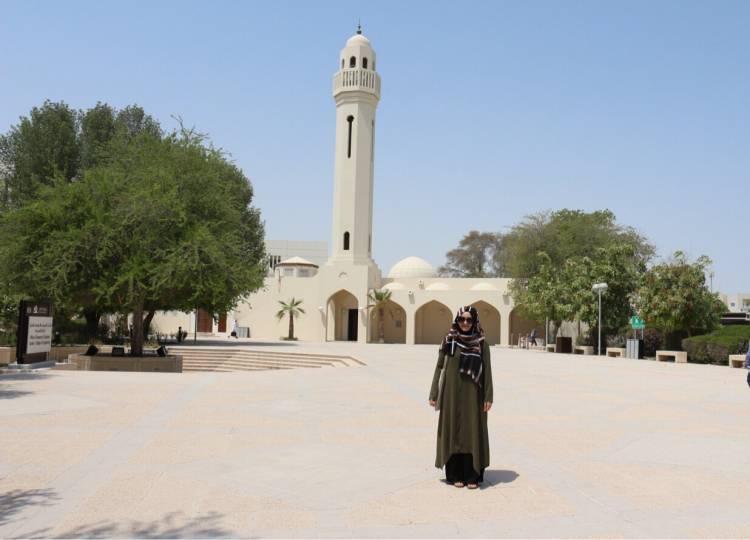 Arş. Gör. Zehra Özbek Dil Eğitimi İçin Katar'a Gitti