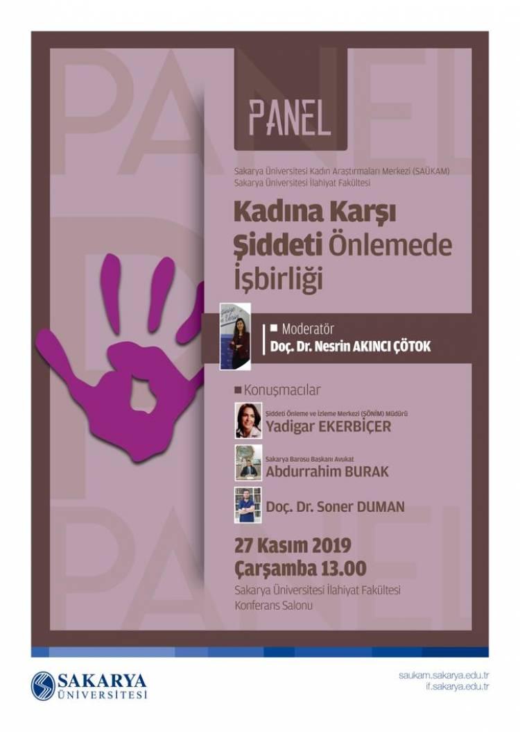 Kadına Karşı Şiddeti Önlemede İşbirliği Konulu Panel