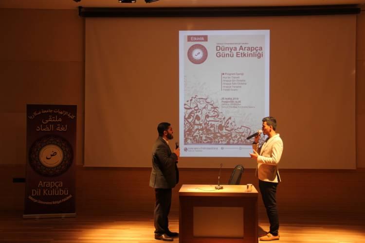 """Fakültemizde """"Dünya Arapça Günü Etkinliği"""" Gerçekleştirildi"""