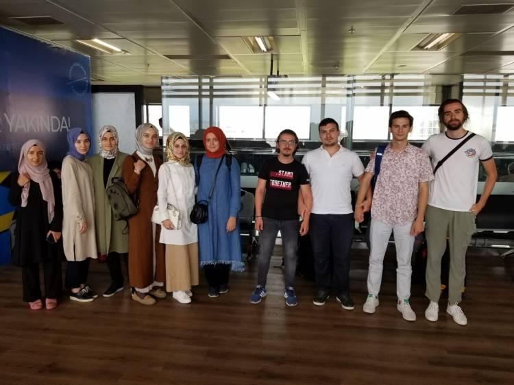 Öğrencilerimiz Katar'da