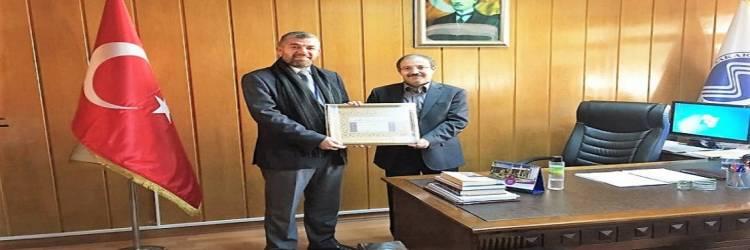 Lübnanlı Rektörden Fakültemize Ziyaret