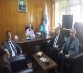 A Visit the Faculty from the University of Yermuk, Jordan