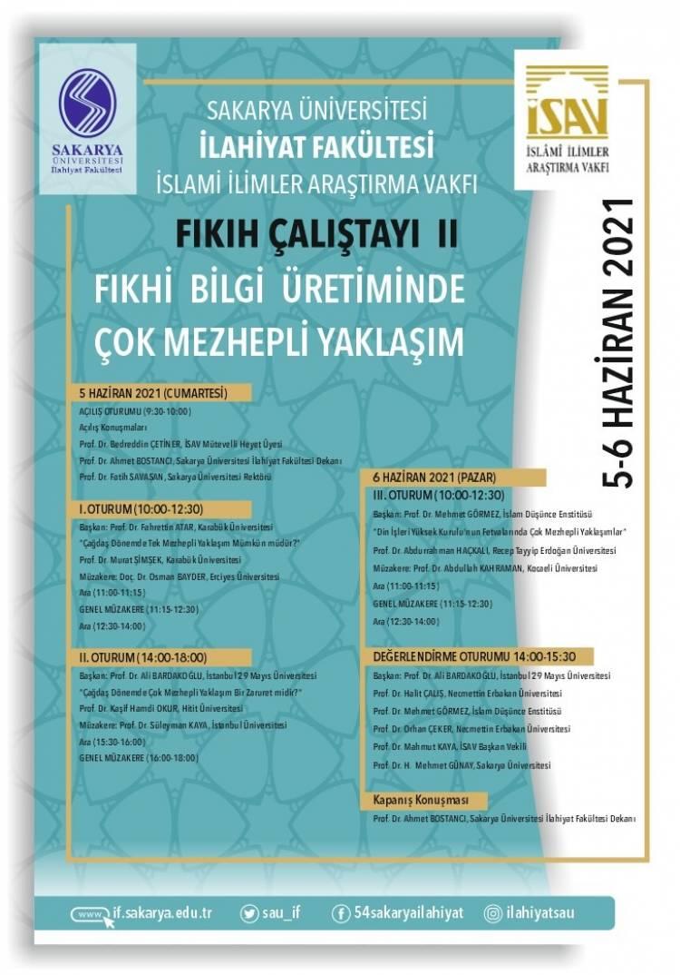 Fıkhi Bilgi Üretiminde Çok Mezhepli Yaklaşım Konulu Çalıştay