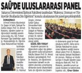 """""""Malezya, Umman ve Türkiye'de Okullarda Din Öğretimi"""" Konulu Panel"""
