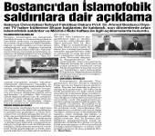 Prof. Dr. Ahmet Bostancı'nın Açıklamaları